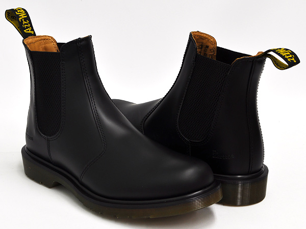 Dr.Martens CHELSEA BOOT 2976 BLACK SMOOTH
