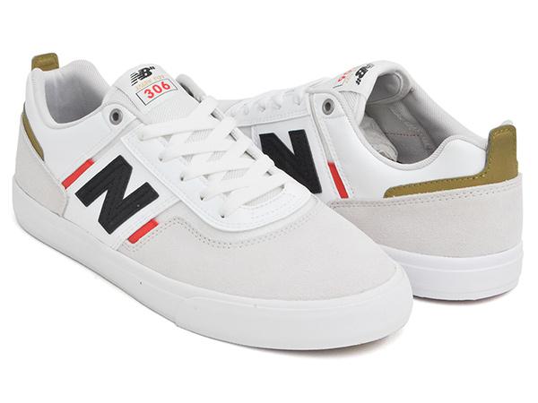 在庫処分 2020 FALL 新作 高品質 NEW BALANCE NUMERIC NM306 MAR ニューバランス ヌメリック 306 WHITE FOY RED フォイ JAMIE ジェイミー