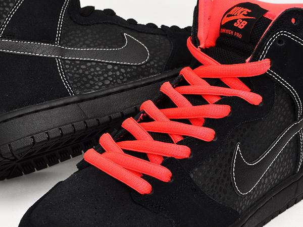 Nike Sb Dunk High Pro Svart / Atom Red Lobster F4aet