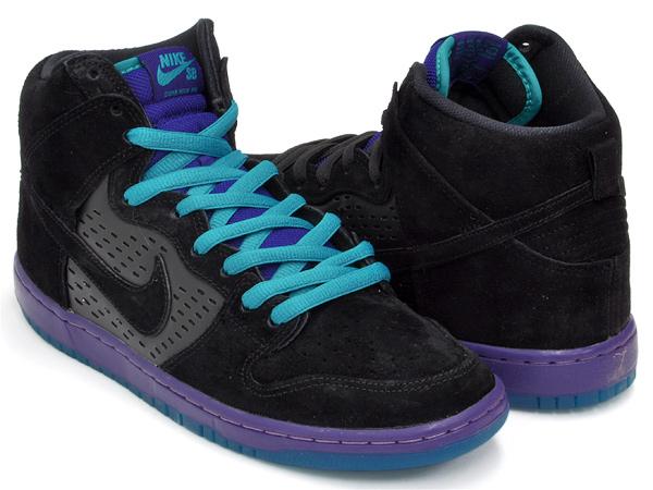 Nike Dunk High Uva Negro Sb Prima DZGR4Sr