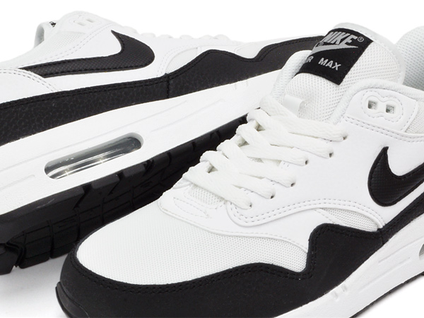 buy popular 69ab9 2d591 NIKE WMNS AIR MAX 1 ESSENTIAL WHITE   BLACK - METALLIC SILVER