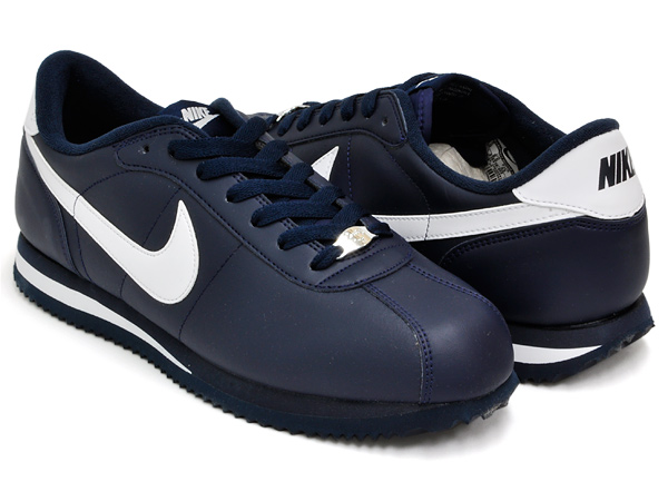 quality design 51a0d 86360 NIKE CORTEZ BASIC LEATHER ' 06 OBSIDIAN/WHITE-OBSIDIAN