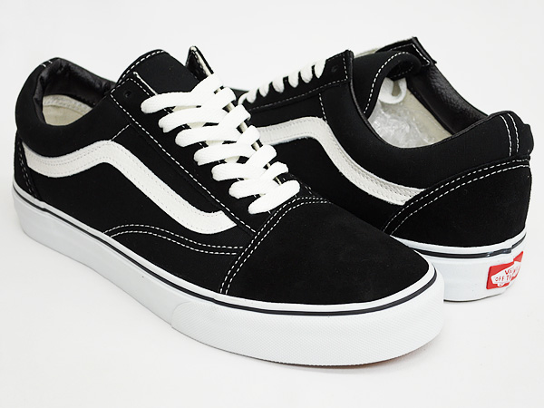 vans black and white old skool