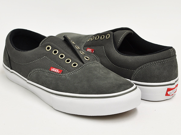 gettrymag  VANS ERA LACELESS PRO (A-SKATE) CHARCOAL  9aa07925c