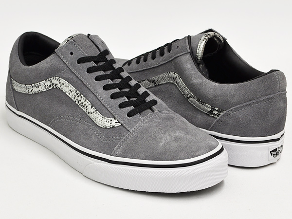 gettrymag  VANS OLD SKOOL (SNAKE) GRAY   SILVER FROST  cd758a00b