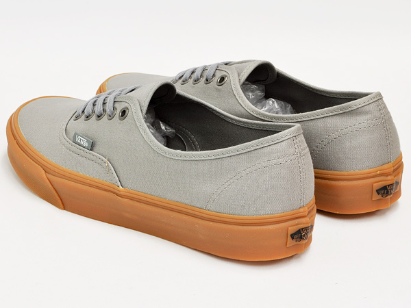 VANS AUTHENTIC (GUMSOLE) FROST GRAY