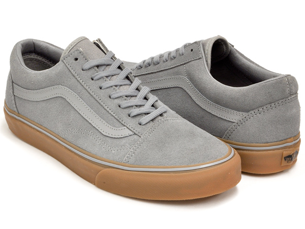 ff3d502e VANS OLD SKOOL (GUM SOLE) FROST GRAY