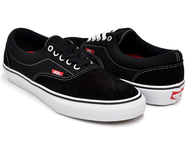 VANS ERA PRO BLACK / WHITE / RED