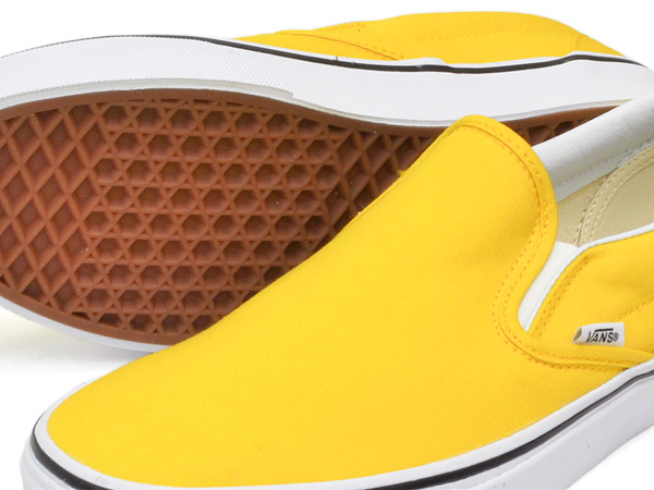 VANS CLASSIC SLIP-ON VIBRANT YELLOW / TRUE WHITE