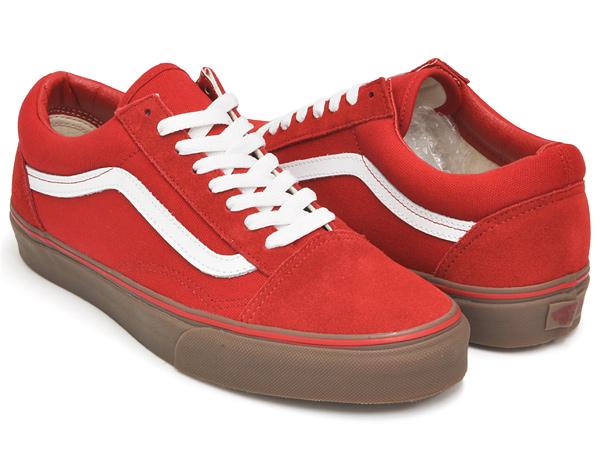 vans red gum