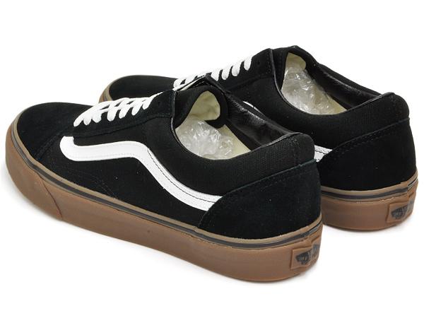 Varebiler Old Skool Skate Sko - (tyggegummi Såle) Black / Medium Tannkjøtt 74vXM