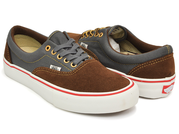 1ad3fde0e9a8 gettrymag  VANS ERA PRO (ANTI HERO) BROWN   CARDIEL