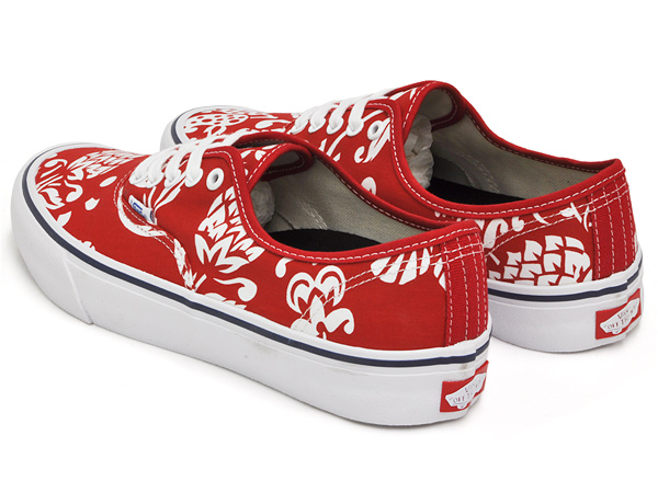 8d70a03e9bf52a gettrymag  VANS AUTHENTIC PRO (50TH)  66 DUKE   RED   WHITE ...