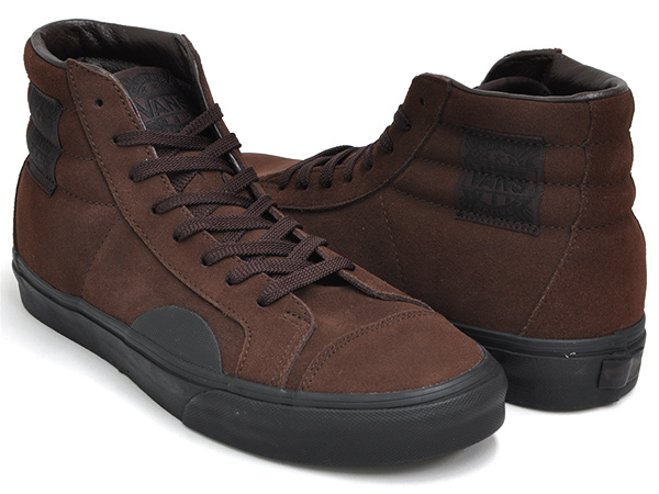 VANS STYLE 238 NATIVE AMERICAN【バンズ スタイル バンズ ネイティブ アメリカン スウェード】(NATIVE SUEDE) SEAL BROWN / BLACK:GETTRY MAG