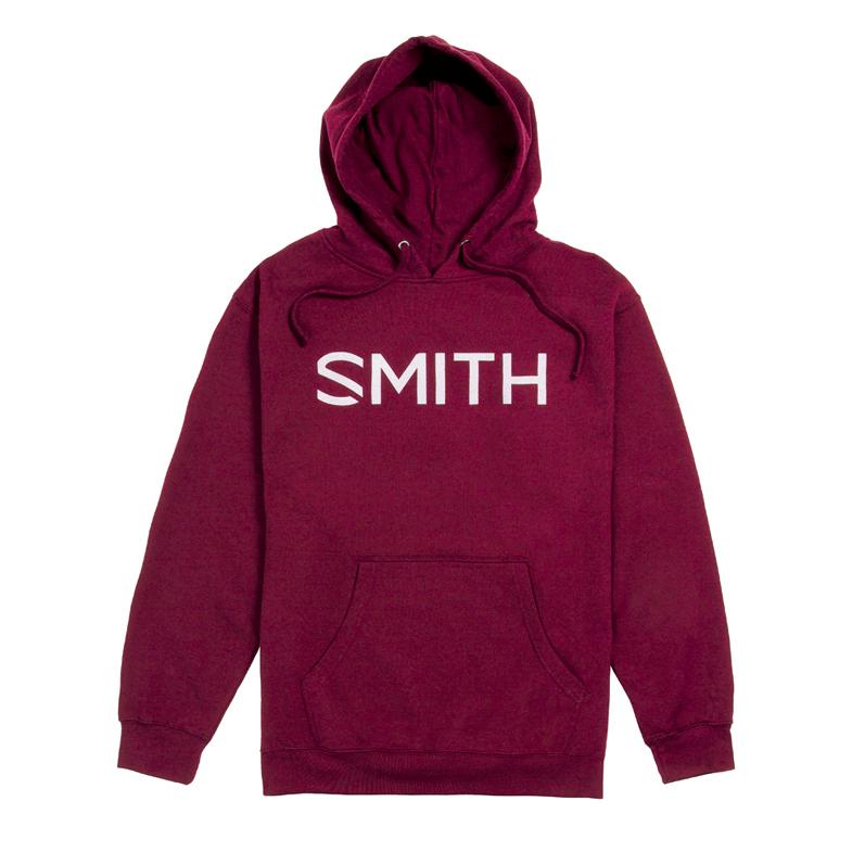 新品 SMITH スミス ESSENTIAL HOODY Burgundyフーディー パーカー ゴーグル スノーボード