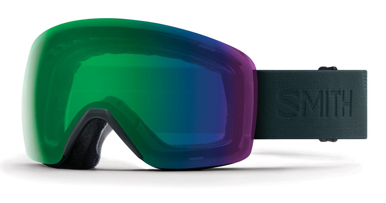 新品18-19 Smith Goggle スミス SKYLINE DEEP FOREST FLOODクロマポップ 送料無料 ゴーグル スノーボード