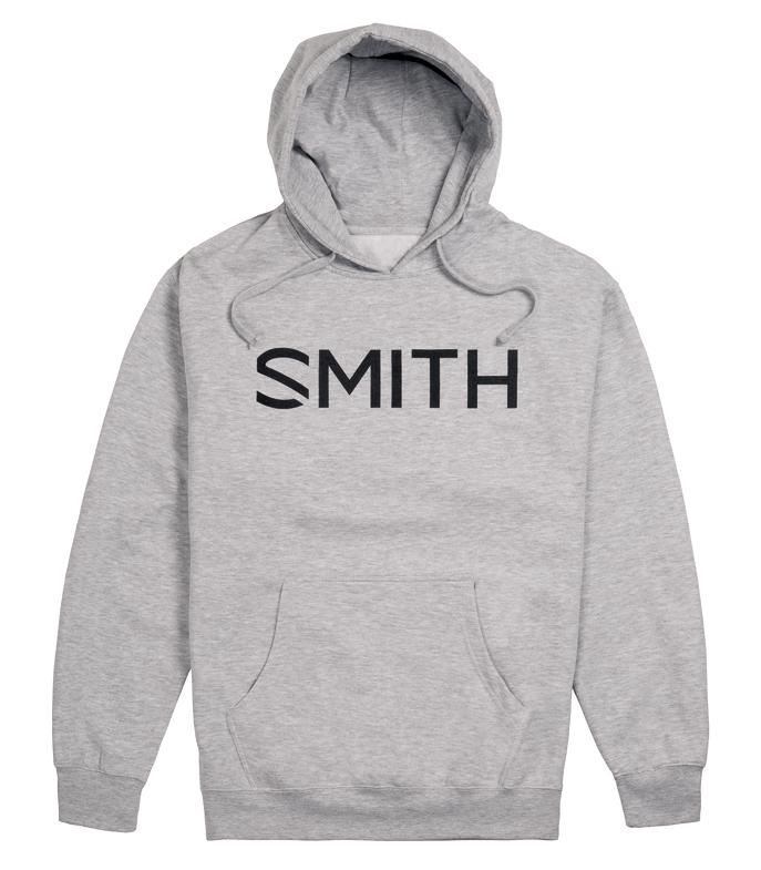 新品 SMITH スミス ESSENTIAL HOODY Grayフーディー パーカー ゴーグル スノーボード