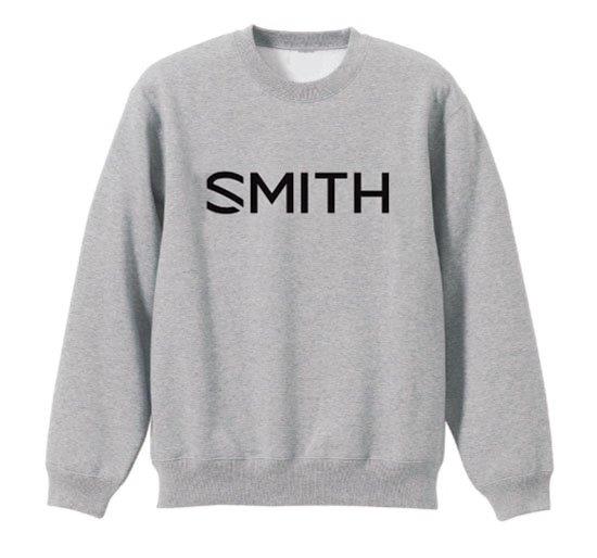 新品 SMITH スミス ESSENTIAL CREW Gray クルースウェット ゴーグル スノーボード