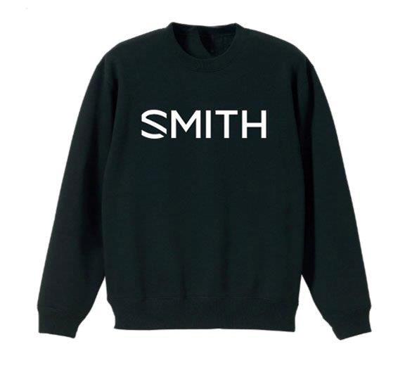 新品 SMITH スミス ESSENTIAL CREW Blackクルースウェット ゴーグル スノーボード