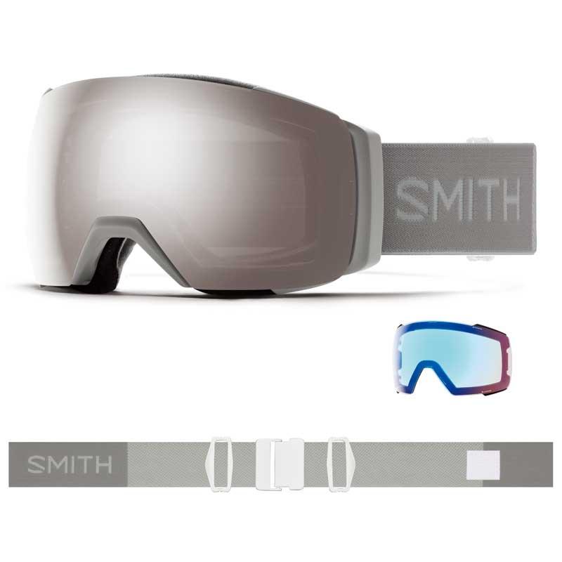 老舗ゴーグルメーカーSMITH 新品20-21 40%OFF Smith Goggle スミス I/O MAG XL CLOUDGRAY Chromapop 送料無料 ゴーグル スノーボード クロマポップ アジアンフィット ジャパンフィット
