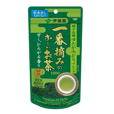 【送料無料】伊藤園お~いお茶 緑茶 一番茶100g20パック 鮮度にこだわった日本一番茶100%!葉茶が新鮮で美味しいと人気!後火仕上げ製法仕上げ。安心の日本国内製PT倍増