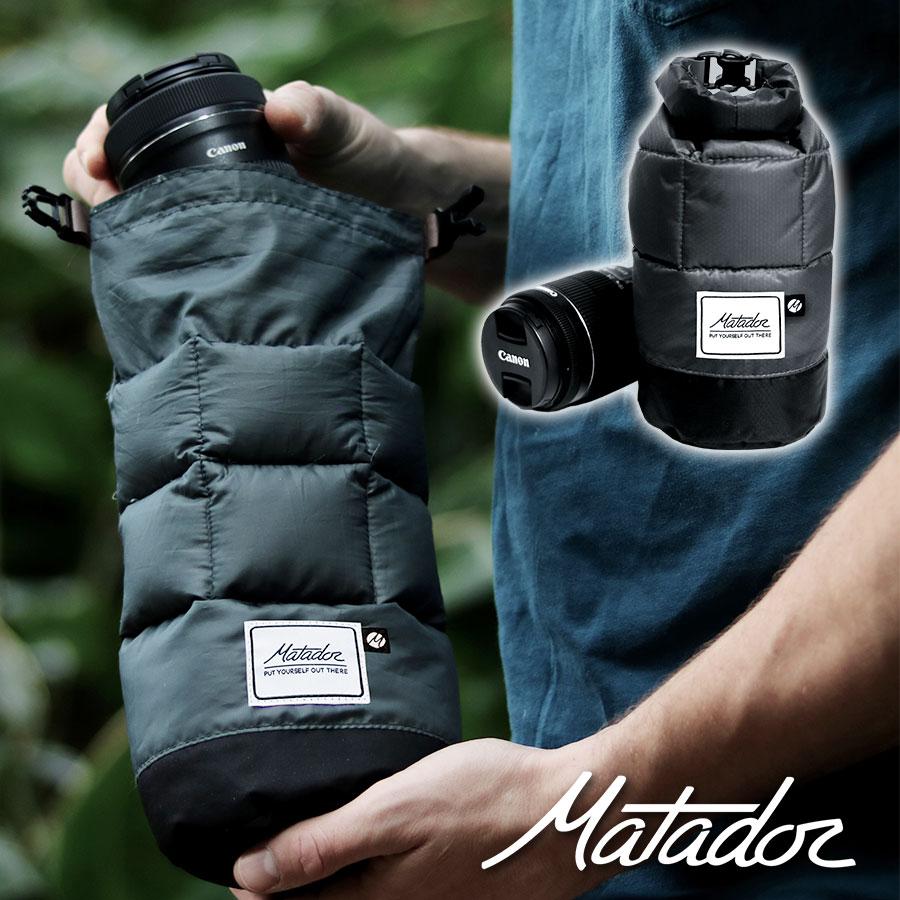 マタドール Matador Lens Base Layer レンズベースレイヤー カメラレンズ保護ケース 衝撃吸収 ダウン 防水 耐久 防塵 軽量 一眼レフ ケース マルチケース