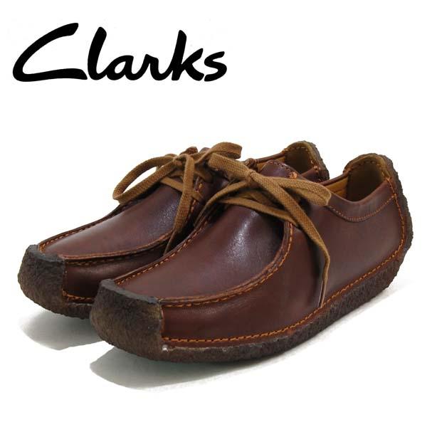 クラークス Clarks ナタリー 革 ワラビー カジュアルシューズ
