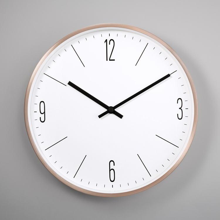 掛け時計 壁掛け時計 壁掛け ウォールクロック 大きい 30cm お洒落 カフェ シルバー HM-1612 【 GMS01647 】 【winter_sp_d】
