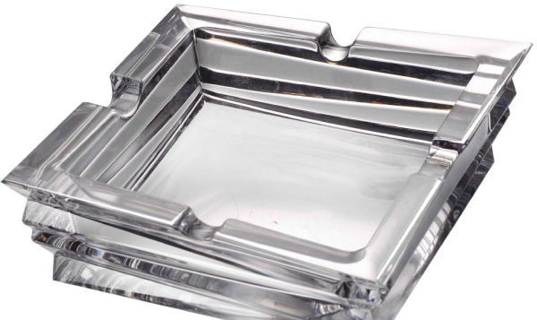 DUENDE(デュエンデ) イタリア 高級クリスタル灰皿 HM-0054 【プレゼント】【 お祝い】【 記念品】【ギフト用】【父の日】 【 GMS00110 】