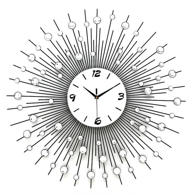 【最大ポイント 50倍!】【15% ポイントバック】G-HOUSE(ジーハウス) 高級 モダン おしゃれ デザイン 壁掛け時計 HM-0850(S) 【 GMS00892-S 】