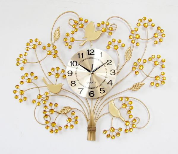 G-HOUSE(ジーハウス) 高級 モダン おしゃれ デザイン 壁掛け時計 HM-0856(F) 【 GMS00898-G 】 【winter_sp_d】
