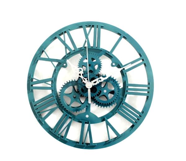 【最大ポイント 50倍!】【15% ポイントバック】G-HOUSE(ジーハウス) 高級 モダン ユニーク デザイン 歯車 ギア 壁掛け時計 HM-0893 【 GMS00935 】