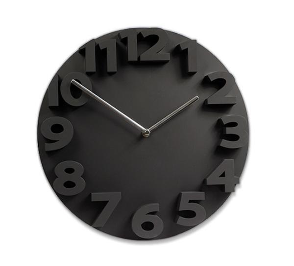 【対象商品ポイント15倍】【スーパーDEAL開催中】GMS00954B G-HOUSE(ジーハウス) おしゃれ モダン 3Dアート デザイン 壁掛け 掛け時計 HM-0912(ブラック) 【 GMS00954B 】