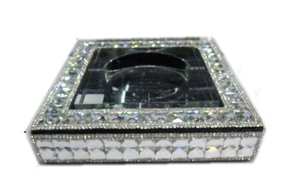 G-HOUSE(ジーハウス) 高級クリスタルガラス タバコ 葉巻 灰皿 HM-0104 【プレゼント】【 お祝い】【 記念品】【ギフト用】【父の日】 【 GMS00160 】