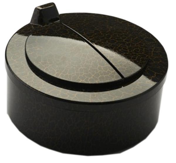 オートセンサー式 自動開閉 大容量 灰皿 2リットル ブラック 卓上 灰皿 HM-0302-B 【父の日】【ギフト】【贈り物】【プレゼント】G-HOUSE(ジーハウス) 【 GMS00345-B 】