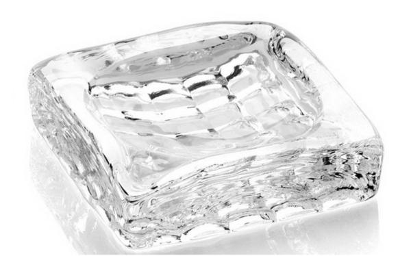【対象商品ポイント15倍】【スーパーDEAL開催中】GMS00453-L G-HOUSE(ジーハウス) 高級 クリスタル ガラス製 灰皿 大 HM-0410-L 【 GMS00453-L 】