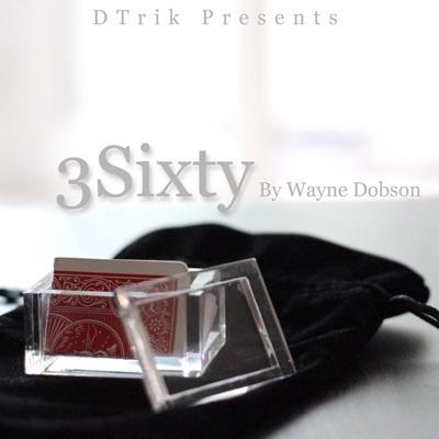 キャッシュレスポイント還元対象/【手品 マジック】3Sixty by Wayne Dobson 製造終了品