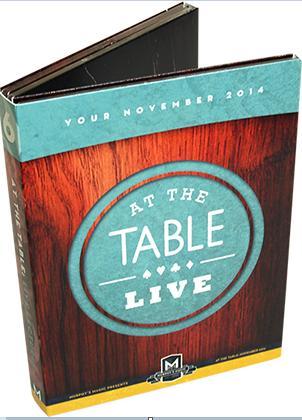 キャッシュレスポイント還元対象/【手品 マジック DVD】At the Table Live Lecture November 2014 - DVD 第6弾 アット ザ テーブル ライブレクチャー 2014年11月 4枚組DVD