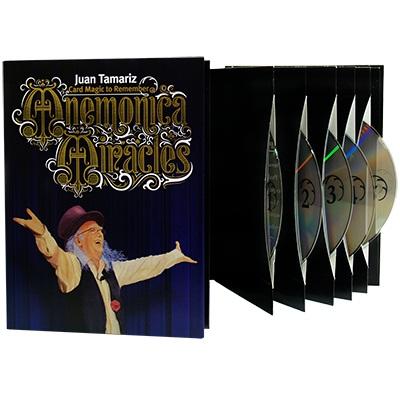 クーポン3%OFF発行中手品 マジック Mnemonica Miracles (5 DVD Box Set) by Juan Tamariz ファンタマリッツのメモライズデック 5枚組DVD   ギフト対応 あす楽