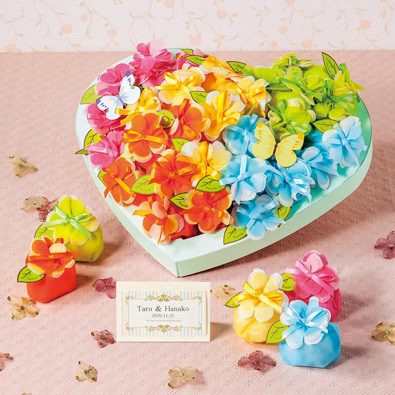 花ワルツ クッキー 30個セット プチギフト 結婚式 ウェディング 披露宴 名入れ[OG]