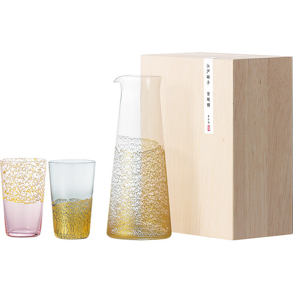金玻璃 酒器セット G641-H104
