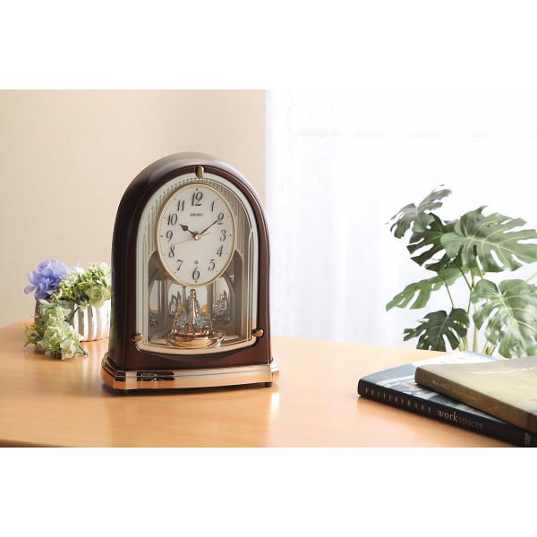 セイコー 電波メロディ置時計(16曲入) BY239B