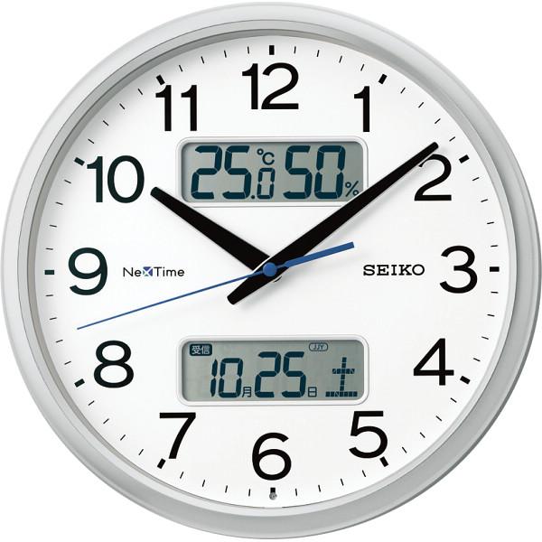 セイコー ハイブリッド電波掛時計 ZS251S