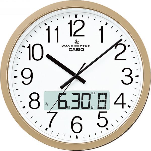 カシオ 電波掛時計 IC-4100J-9JF