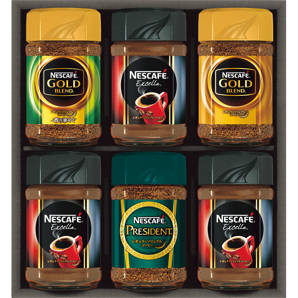 ギフト プレゼント 御祝 お返し 内祝い N35-A 奉呈 お中元 暑中お見舞い お求めやすく価格改定 ネスカフェ プレミアムレギュラーソリュブルコーヒー