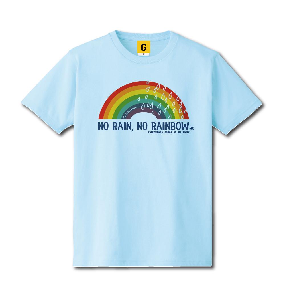 レインボー ハワイ 雑貨 tシャツ おもしろTシャツ 雨男 登場大人気アイテム 3 980円 ついに入荷 税込み 以上お買い上げで送料無料 NO オリジナル ギフト RAINBOW RAIN 女性 女友達 誕生日プレゼント GIFTEE おもしろ 男性 プレゼント