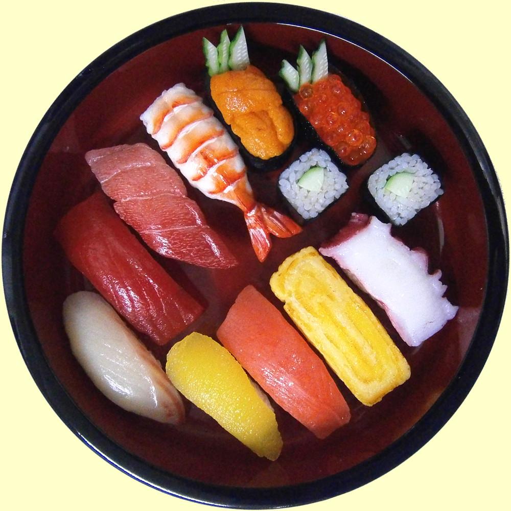 Sushi plate cattleya pink