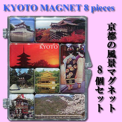 京都议定书景观磁铁设置 8 件
