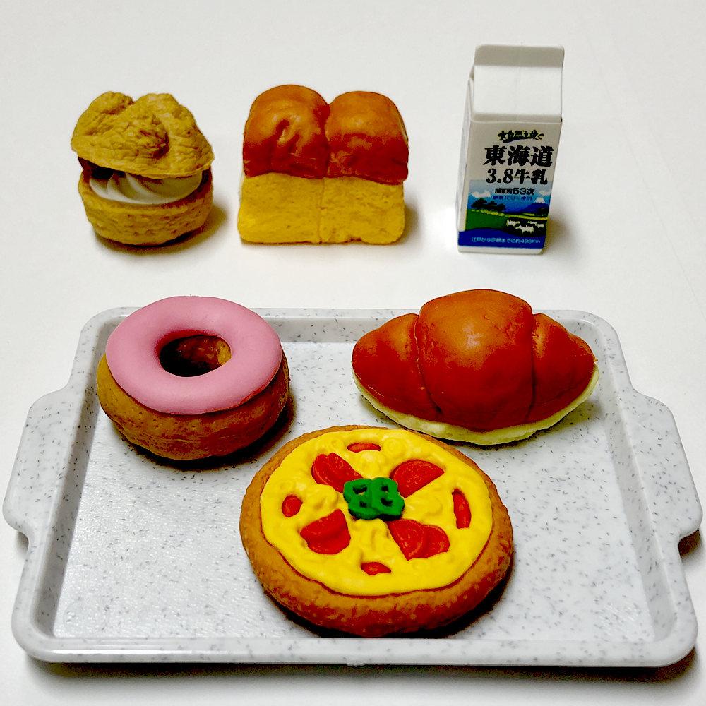 面白消しゴム 超激得SALE 外国人が喜ぶ日本のお土産 大好評 おもしろ消しゴム パン屋さんパンのフィギュア おままごと 送料無料 高品質 外国人へのお土産 日本のおみやげ メール便 フィギュア消しゴム