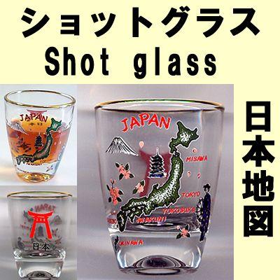 日本模式拍摄玻璃日本地图